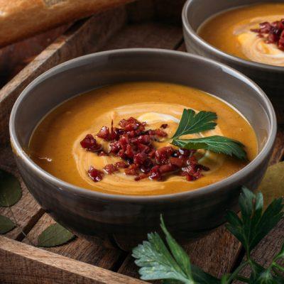 Maple Sweet Potato Soup