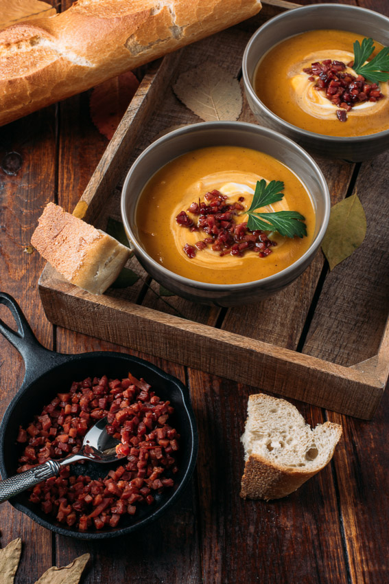 Maple Sweet Potato Soup