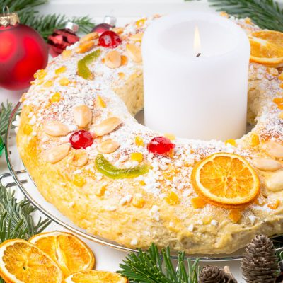 Roscón de Reyes – spanischer Dreikönigskuchen