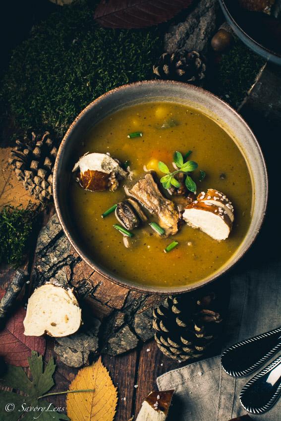 Bramboracka, Prager Kartoffelsuppe