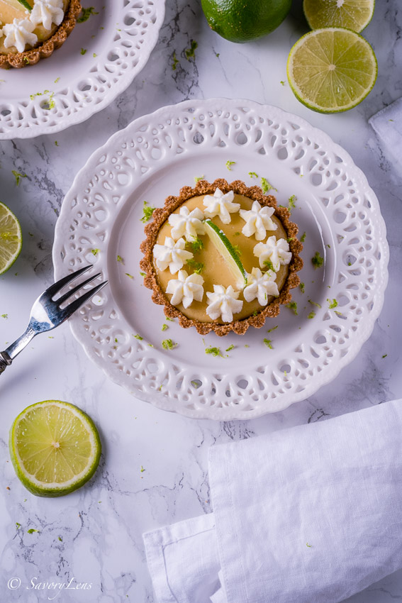 Key Lime Pie Tartelettes