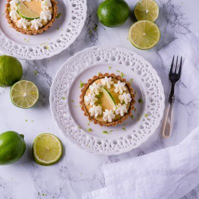 Key Lime Pie Tartelettes