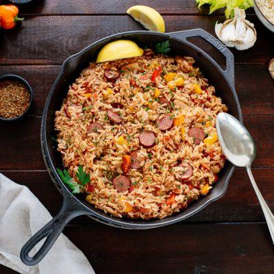 Pilau – traditonelles Reisgericht aus St. Augustine