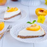 Peach-Ricotta-Cheesecake