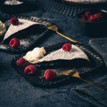 Kladdkaka - Schwedischer Schokoladenkuchen