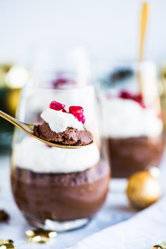 Schokoladen-Maronen Mousse