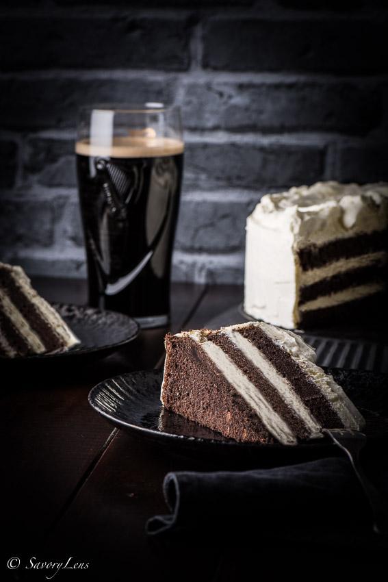 Guinness Layer Cake