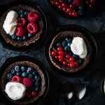 Chocolate Dutch Baby mit Sommerbeeren