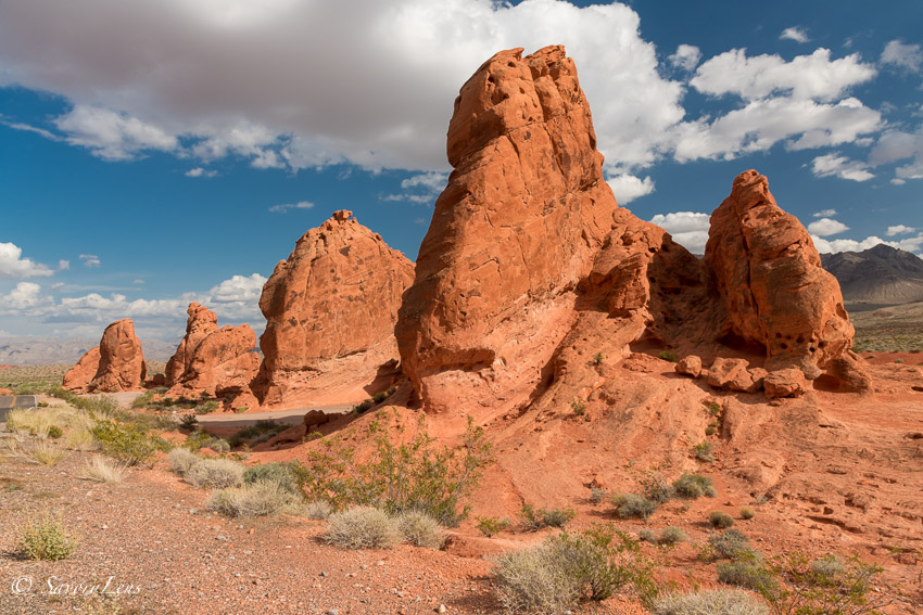 Seven Sisters at Valley of Fire