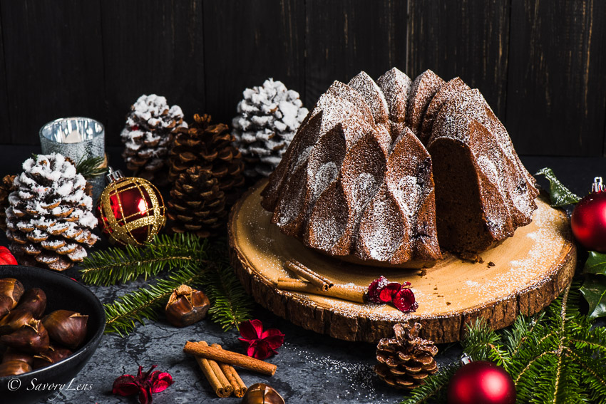 Chestnut Chocolate Bundt