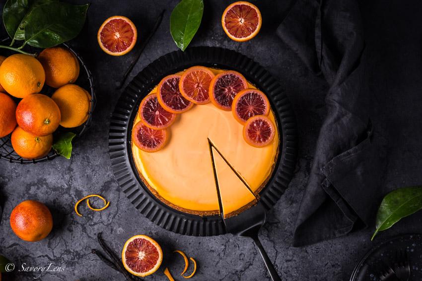 Blutorangen Cheesecake