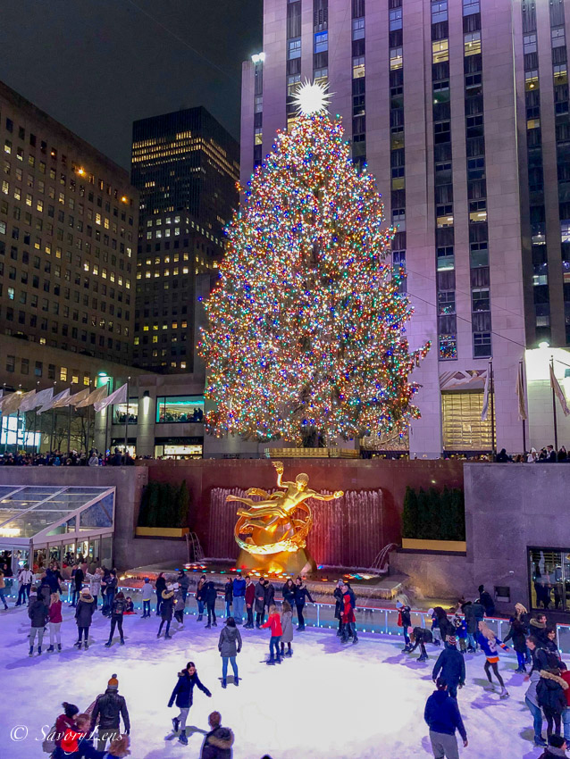 Weihnachten in New York - Rockefeller Center