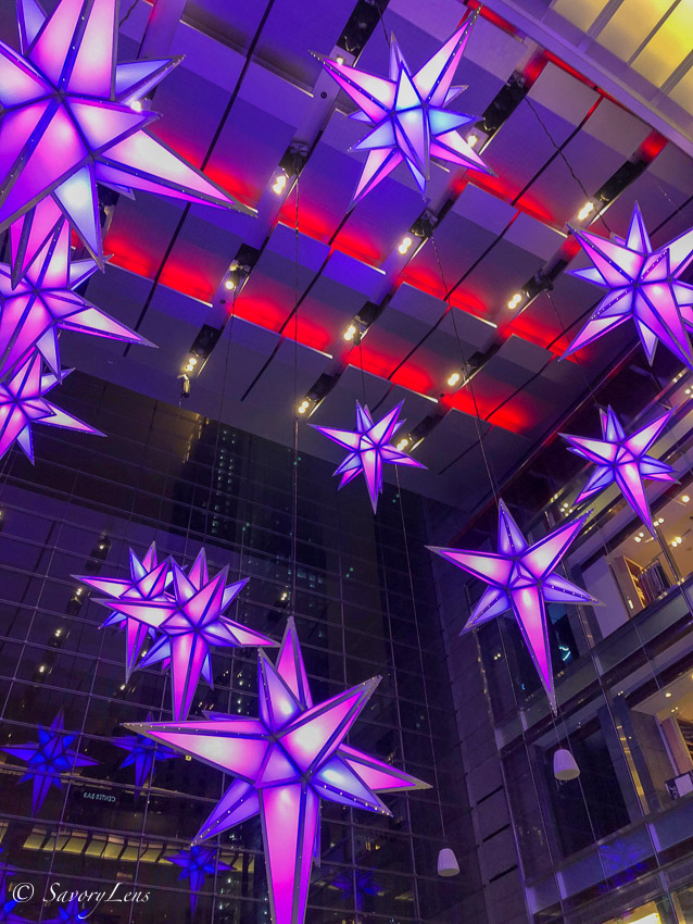 Weihnachten in New York - Time Warner Center