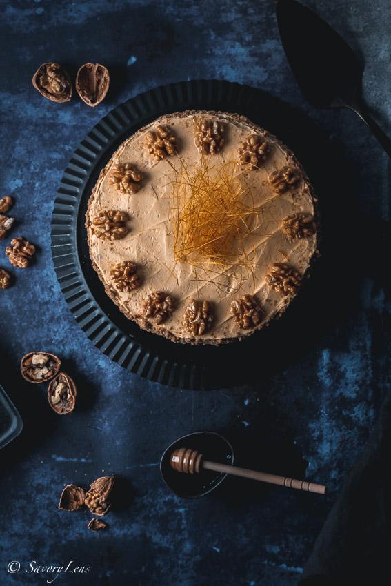 Medovnik - tschechischer Honigkuchen