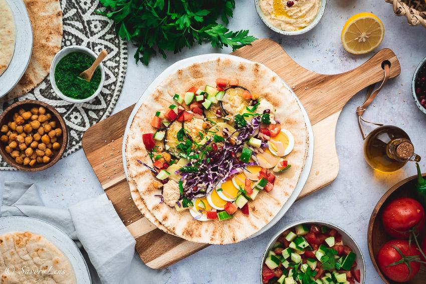 Sabich - Streetfood aus Israel – SavoryLens