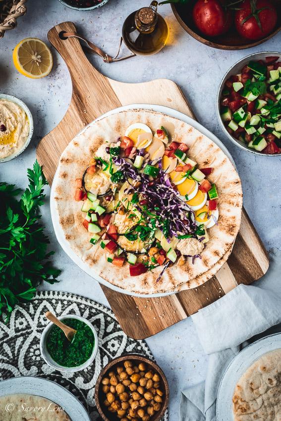 Sabich - Streetfood aus Israel