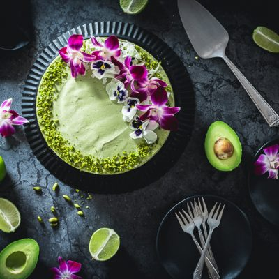Avocado Limetten Cheesecake