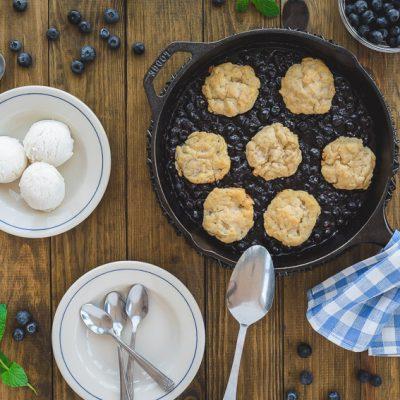 Blueberry Grunt – Dessert aus Nova Scotia