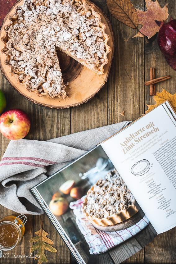 Köstlich backen mit Äpfeln von Andrea Natschke-Hofmann (Rezension)