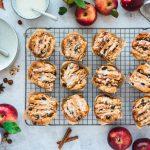 Apfel-Haselnuss-Pull-Apart-Muffins