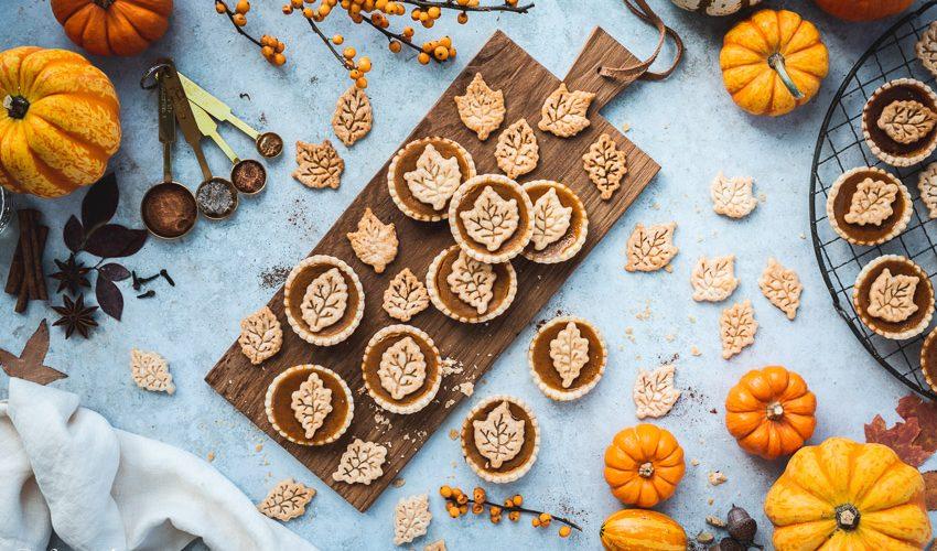 Mini Kürbis Pies – Dessert zu Thanksgiving