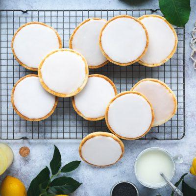 Zitronen-Mohn Amerikaner