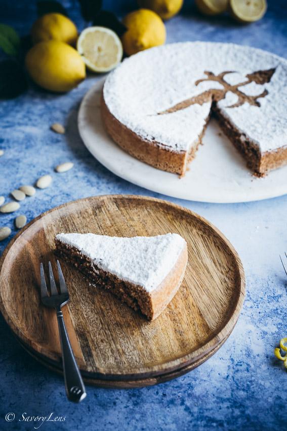 Tarta de Santiago - Spanischer Mandelkuchen