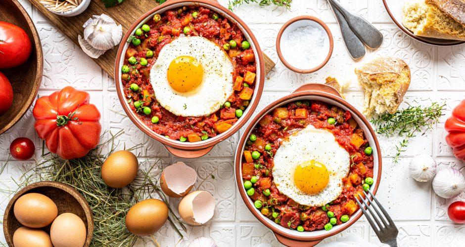 Huevos a la flamenca – Traditionelle Eierspeise aus Spanien