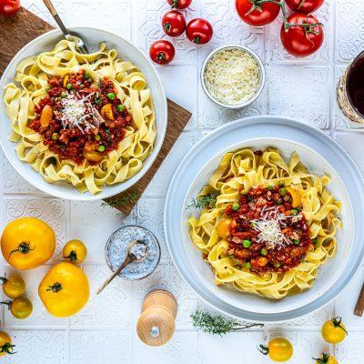 Tagliatelle al tonno – Sommerliche Thunfisch-Pasta