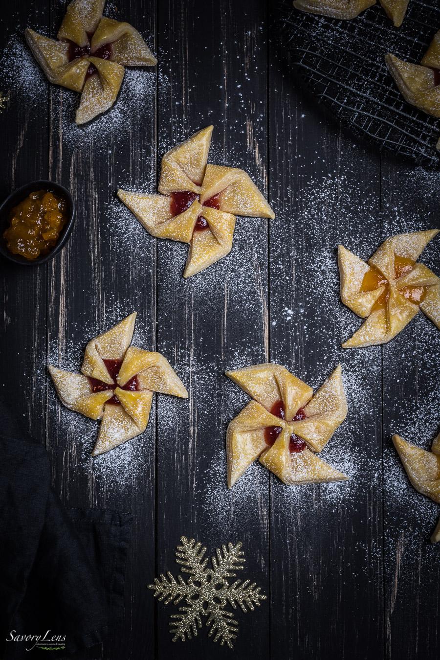 Joulutorttu – Finnische Weihnachtskuchen