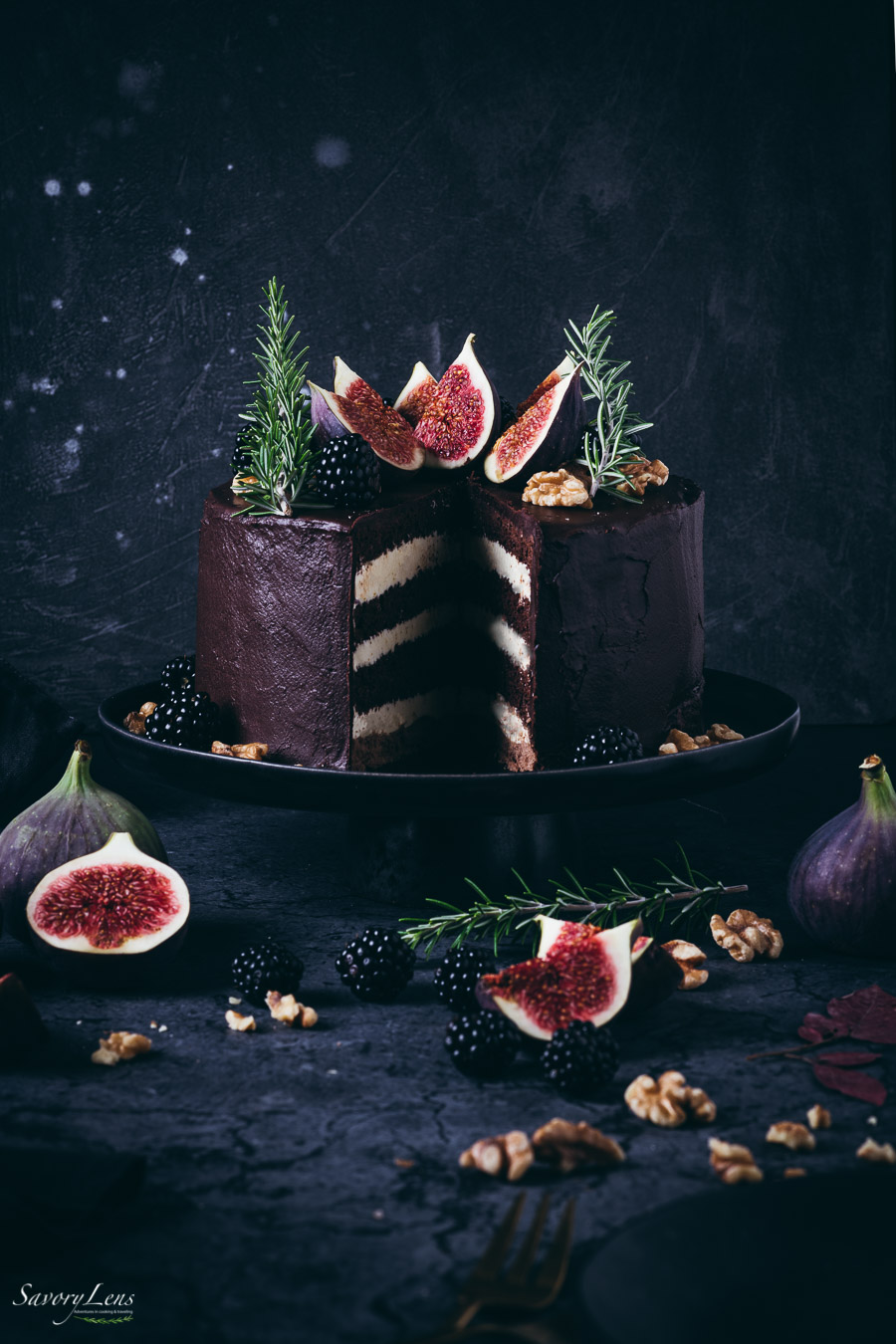 Schokoladen-Feigen-Torte