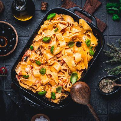 Baked Feta Pasta – schnell und einfach gemacht