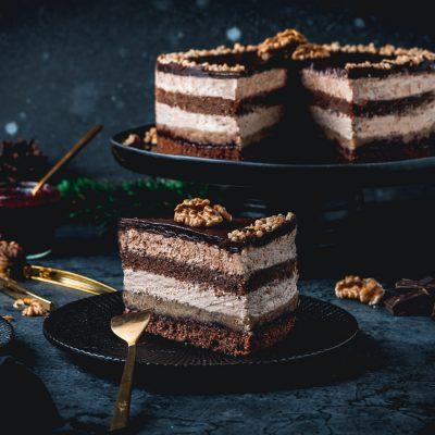 Walnuss-Rum-Torte – Leckerei aus der Slowakei